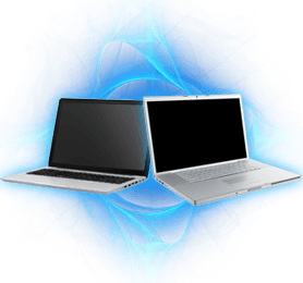 Dispose of corporate laptops via selling or recycling them.