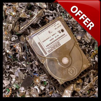 Free computer hard drive disposal service
