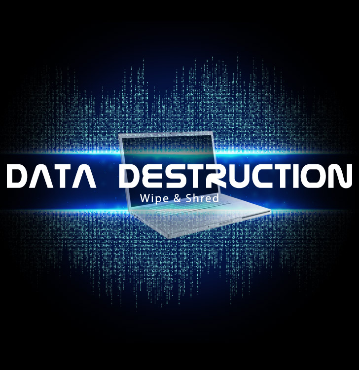 How to permanently delete data from business laptops?