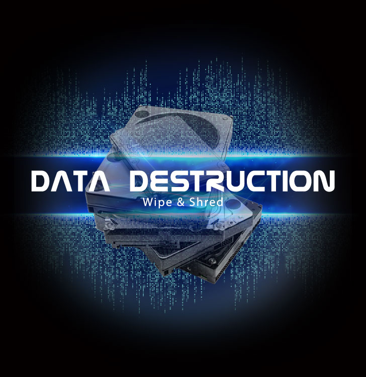 How to permanently delete data from business office IT equipment?