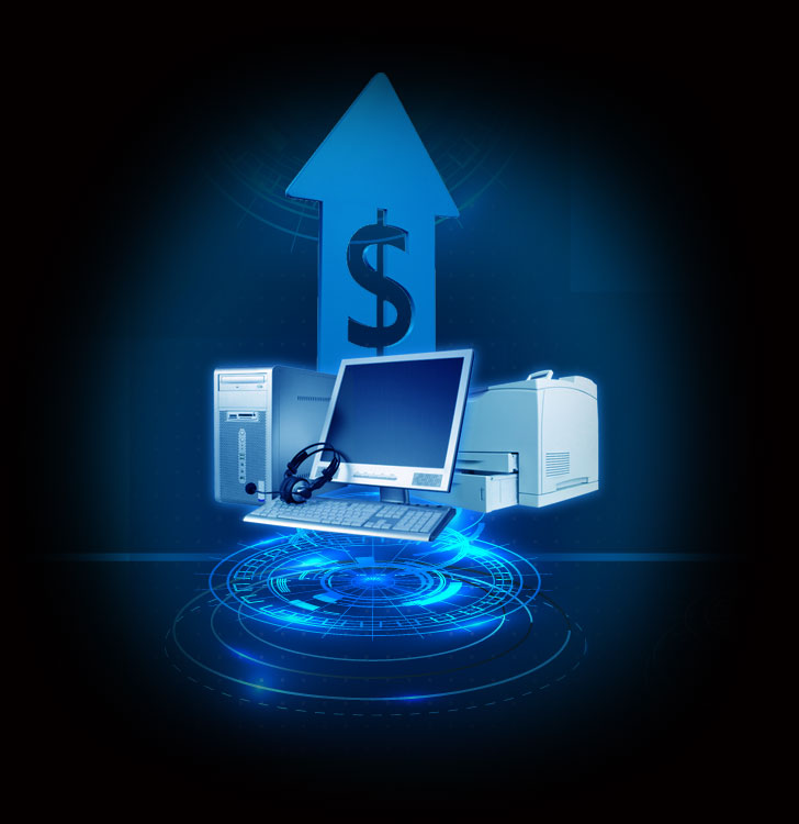 REMARKETING AND SELLING PROFESSIONALLY USED OFFICE I.T. HARDWARE