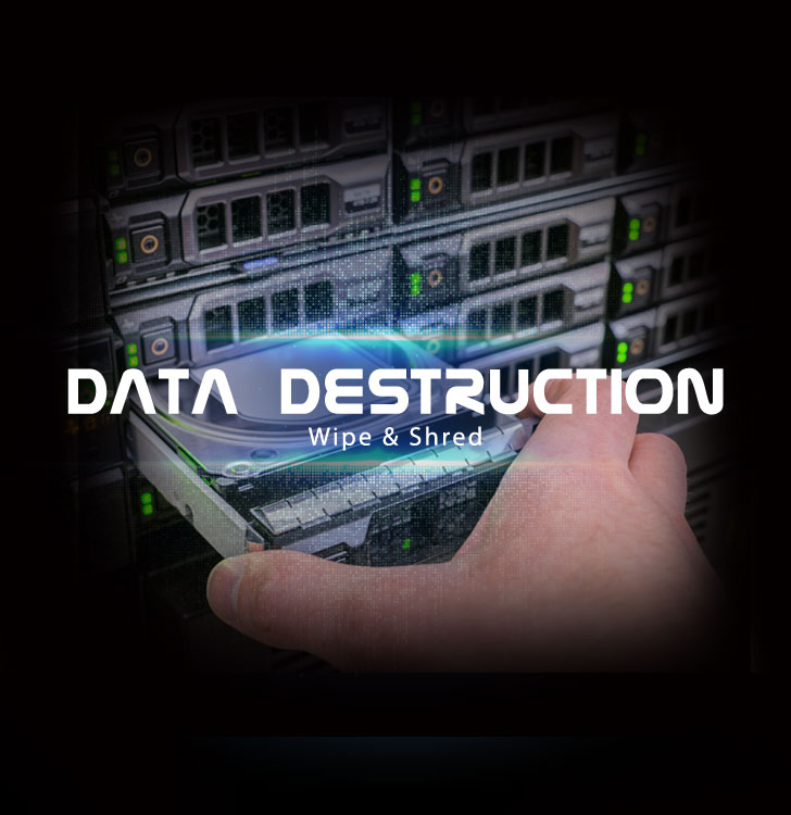 How to permanently delete data from business servers?
