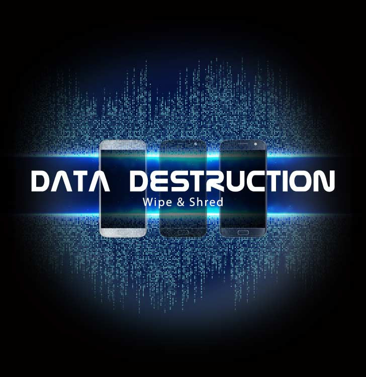 How to permanently delete data from business smartphones?